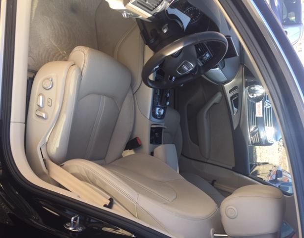 Audi A6 Comfort seats